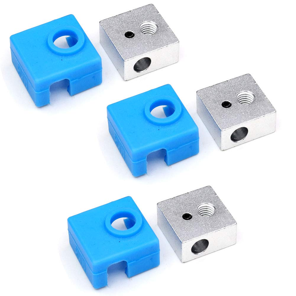 Ewigkeit V6 Silicone Sock Heater Block Silicone Cover for E3D V6 3D Printer Extruder Hotend