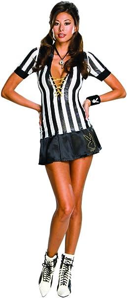 Disfraz de árbitro Playboy para mujer - L: Amazon.es: Ropa y ...