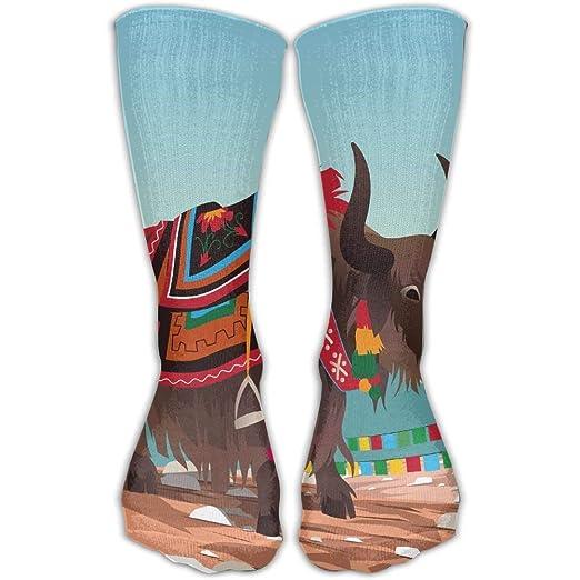Amazon.com  Unisex Breathable Perspiration Tibetan Yak Ankle Socks ... a4fe50837cba