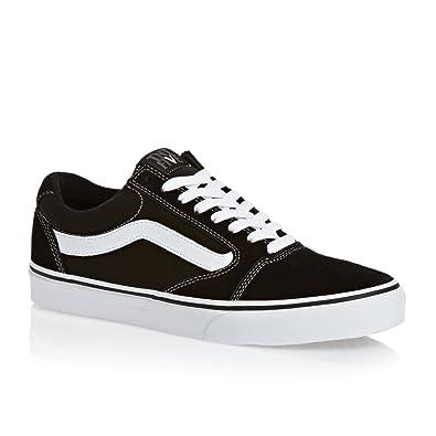 b44f2fd2e8 Vans TNT 5 Skate Shoe - Mens Black White