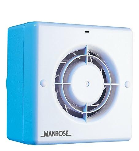 Manrose CF100T Abluftventilator Badezimmer/WC, Zentrifugal Mit  Zeitschaltuhr, Kanalgröße 100 Mm (4