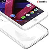 Chevron Motorola Moto G4 Plus (Crystal Clear) )(Anti-Scratches)Flexible Tpu Gel Soft Skin Silicone Protective Case Cover -Clear