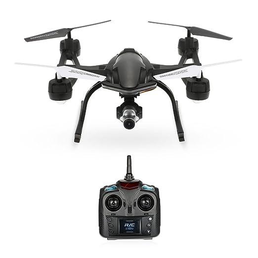 Festnight - RC Dron, cuadricóptero, con cámara 668-R8WH de 2,4G ...