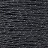 Reflective Type III 550 Paracord - Camo Pattern - 10 Ft Hank - 7 Strand Core - 100% Nylon, Parachute Cord, Commercial Paracord, Survival Cord
