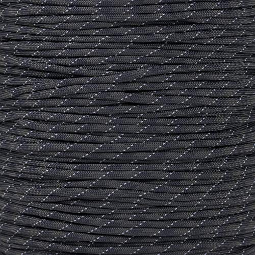 Reflective Type III 550 Paracord - Camo Pattern - 10 Ft Hank - 7 Strand Core - 100% Nylon, Parachute Cord, Commercial Paracord, Survival Cord by PARACORD PLANET (Image #1)