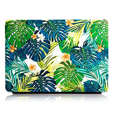 MacBook Pro 13 inch Cover Case,One Micron Matte Soft Plastic Hard Case for MacBook Pro 13''with Retina without CD Drive (A1425/A1502 )-Tropical Palm (Cargador Palm)