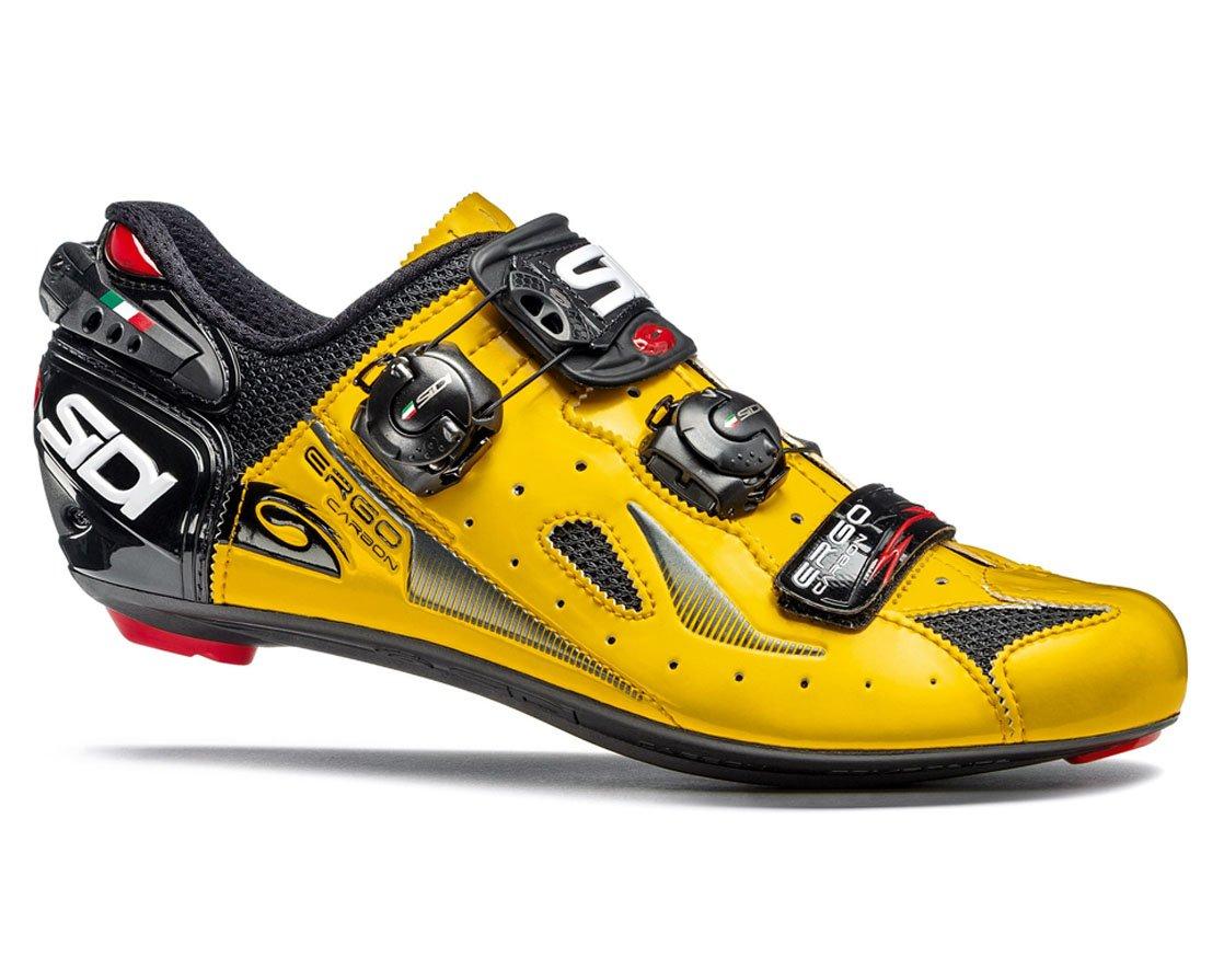 SIDI(シディ) Ergo 4(エルゴ 4) ロードサイクリングシューズ - Yellow/Black(イエロー/ブラック) [並行輸入品] 44 EUR [27cm]  B07C5PFM6M