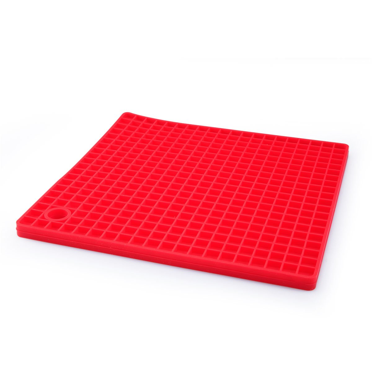 Gloriastore Silicone Placemats Set Of 4 Table Mats Heat Resistant Rubber  Red: Amazon: Kitchen & Home