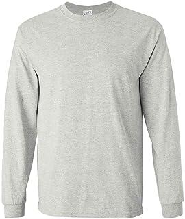 39b471685d8a Joe's USA Men's Long Sleeve Heavy Cotton Crew Neck T-Shirts in 27 Colors: