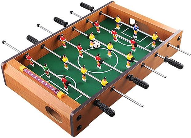 LIOOBO futbolín Mesa Mini Tablero Deportes Arcade fútbol ...
