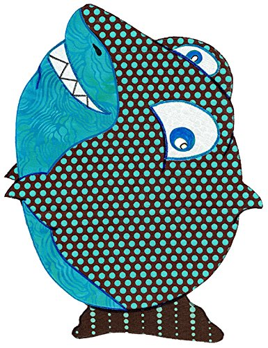 Amazon com: Baby Quilt Patterns, by Kiddie Komfies, Shark