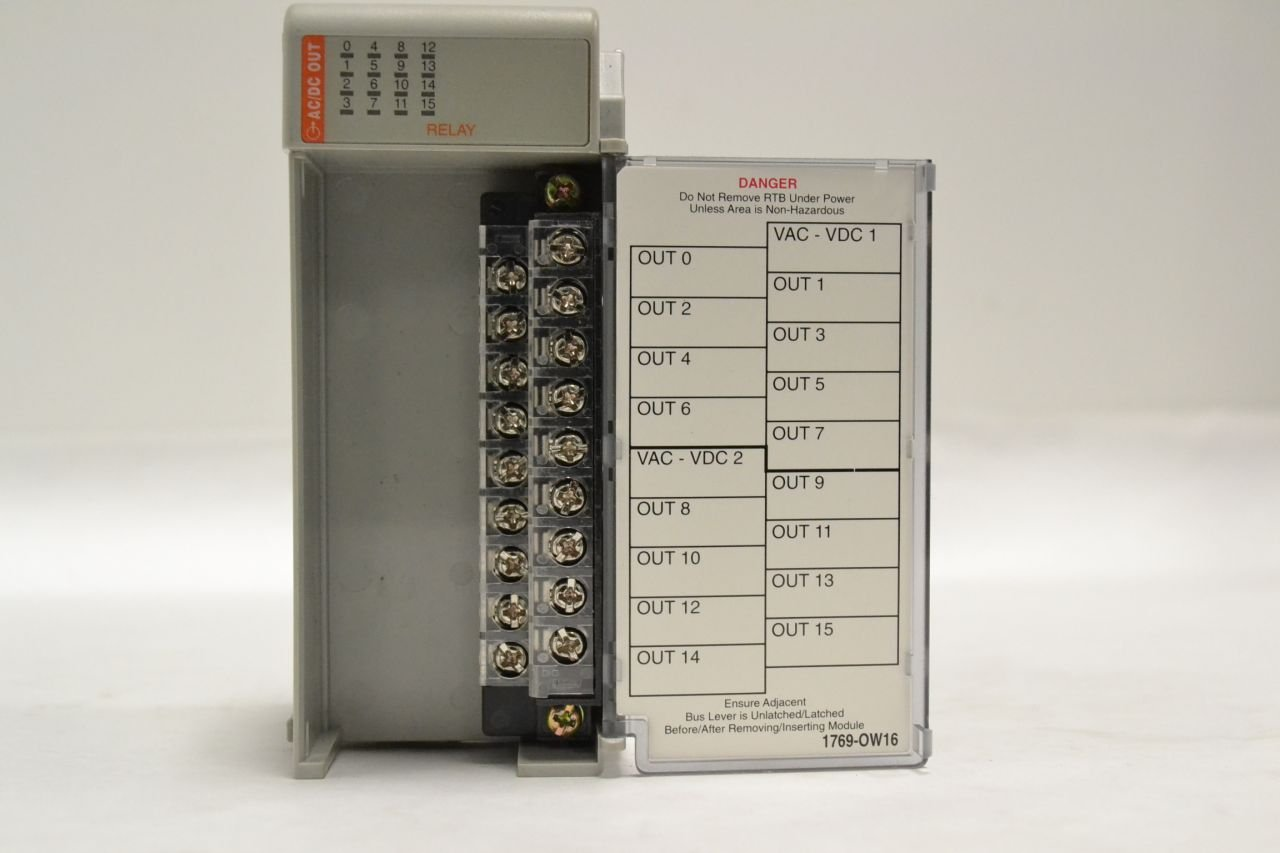 Allen Bradley 1769 Ow16 Compact I O 16 Point Relay Output Module Ser