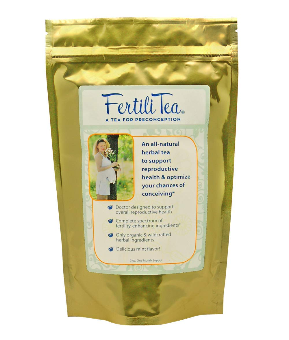 FertiliTea: Organic Fertility Tea, 60 Servings, Contains Vitex by Fairhaven Health (Image #1)
