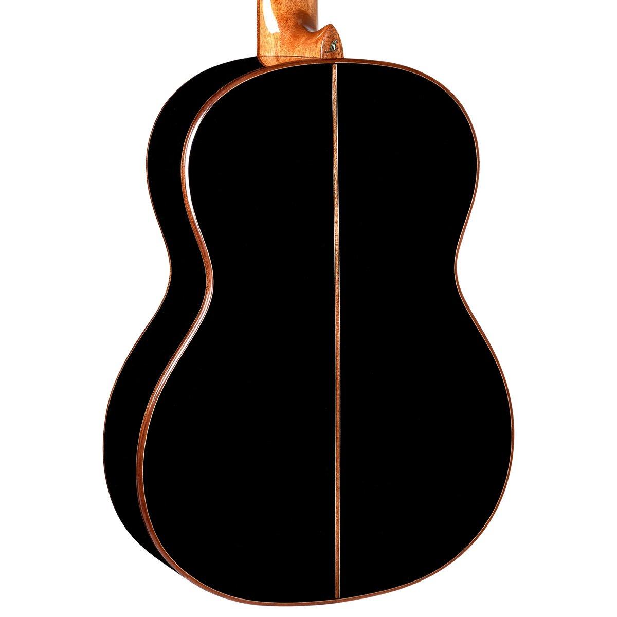 Merida Diana DC-15BK de la guitarra clásica, tapa de Cedro ...