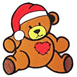 Harrods Christmas Bear Iron on Patches - 6Patch