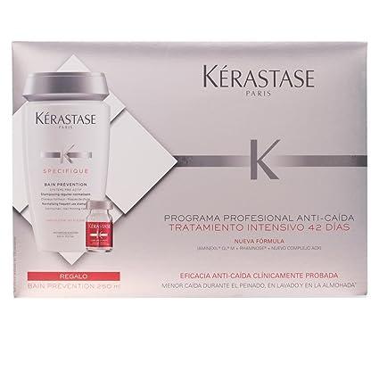 Kerastase Aminexil Intense Otoño Set de bombillas Anticaída + Gel de prevención 250 ml