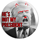 Geek Details Not My President Themed Pinback Button