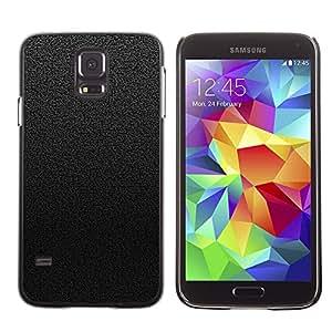 Caucho caso de Shell duro de la cubierta de accesorios de protección BY RAYDREAMMM - Samsung Galaxy S5 - Negro y Gris Azulejos