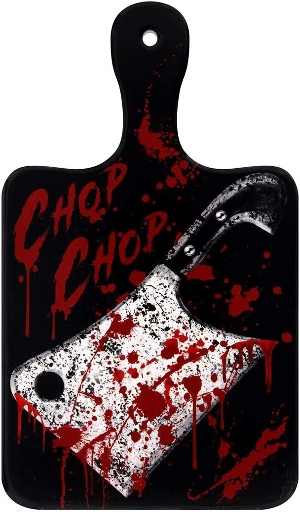 Alchemy of England Chop Chop Cutting Board Black/Red/White