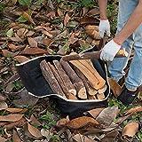 Amagabeli Large Canvas Log Tote Bag Carrier
