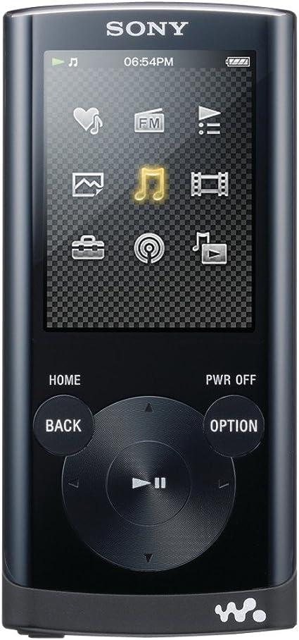 Black FAST SHIPPING BRAND NEW Sony NWE395//B 16GB Walkman MP3 Player