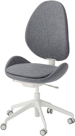 Ikea Hattefjall Swivel Chair Gunnared Medium Gray 403.413.37