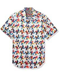 Men's Ransom Note S/S Woven Shirt