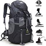 Hiking Backpack 50L, Lightweight Waterproof Daypacks for Climbing, Hiking, Fishing, Traveling, Cycling, Weekend Trips, Walking & City Use