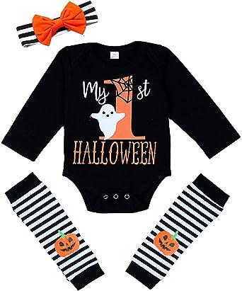 Halloween Pumpkin New Parents Top Baby Bodysuit