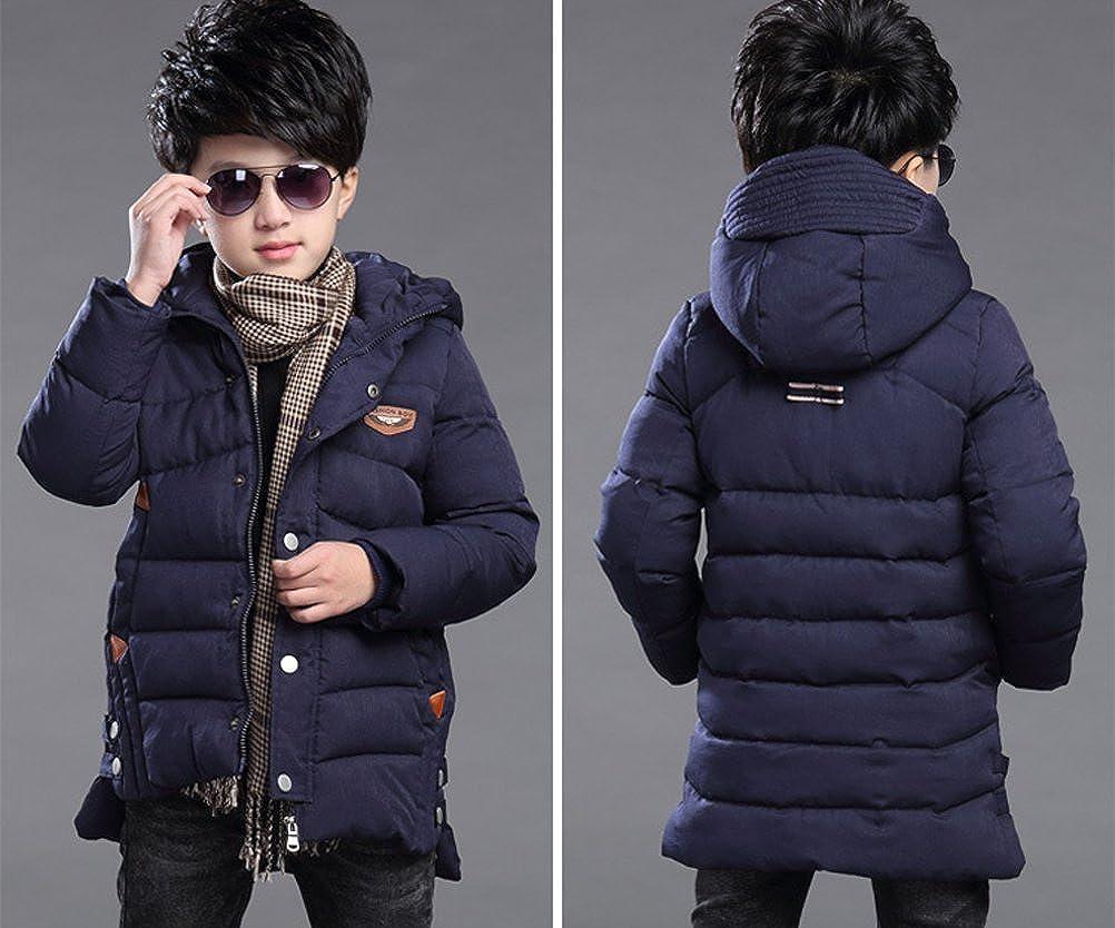 Maison Jardin Abbigliamento per bambini Cappotto Bambino Giacca invernale Autunno caldo con cappuccio Zip
