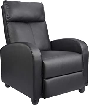 Homall Recliner Chair Padded Seat - Comfortable Seating for Relaxation
