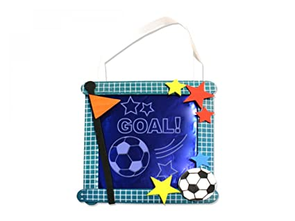 Amazon soccer banner craft kit set of 24 crafts do it soccer banner craft kit set of 24 crafts do it solutioingenieria Choice Image