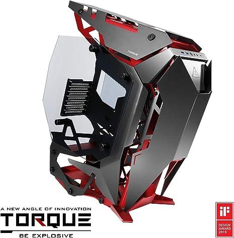 Antec Torque Computer Case Midi-Tower Negro, Rojo - Caja de ...