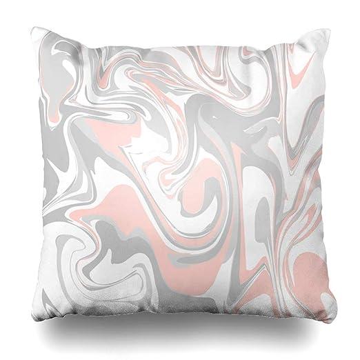 Pillow Home Funda de Almohada Color del patrón Pastel Rosa ...