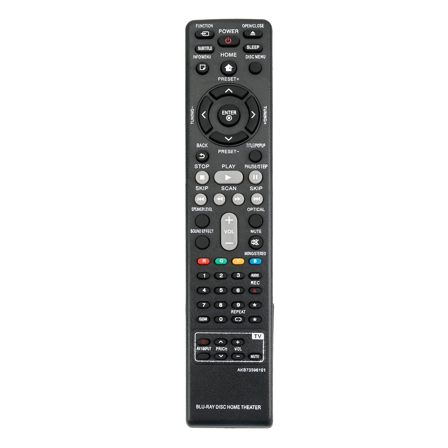 New AKB73596101 Replace Remote Control AKB73596102 fit for LG S62S1-S BH6220S BH6240S BH6340H BH6520TW BH6720S BH6720SMW BH6820SW BH6820SWMW BH9520TW Smart Blu-Ray DISC DVD Home Theater Cinema System