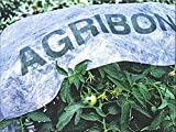 Agribon AG-19 Floating Row Crop Cover / Frost Blanket / Garden Fabric Plant Cover