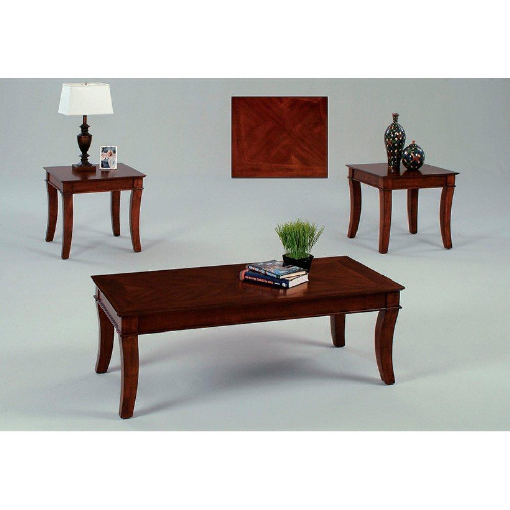 Progressive Furniture Corona Tables (3 Pack) - Medium - Cherry