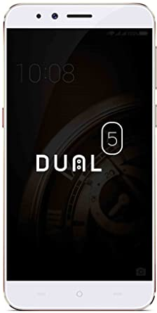 Micromax Dual 5 E4820  Champagne, 128 GB  Smartphones