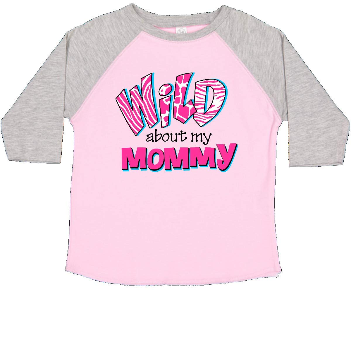 inktastic Wild About Mommy Toddler T-Shirt