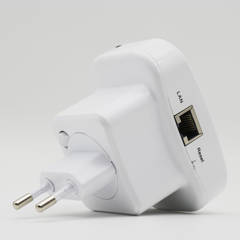 SODIAL WiFi-N REPETITEUR DE Signal Point Chaud Extender sans Fil AMPLIFICATEUR WiFi EXTENDI Fiche UE