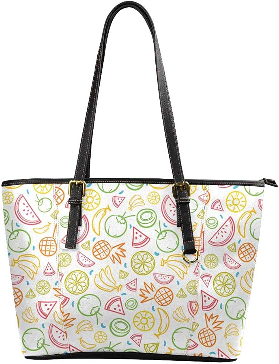 INTERESTPRINT Colorful Psychedelic Ice Tie Dye Swirl Pattern Purses and Handbags for Women Satchel Shoulder Tote Bags
