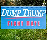 Win the War Against Hate & Fear The only way to defeat hate is to love. Use this yard sign as a reminder to yourself and those around you that it is on us as individuals to reject the Drumpf-ian ideals of exclusion and prejudice, and choose to ...