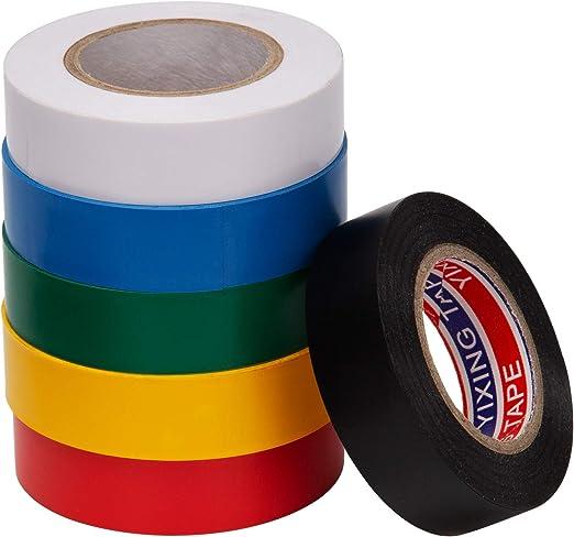10 Stück Elektro Isolierband Klebeband Isolierband Klebeband Isoband Tape NEU