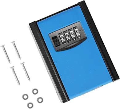 Caja de seguridad para llaves, antirrobo, resistente al agua ...