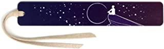 product image for Personalized Dreamer - Art by Julia Hill on Solid Cherry Wooden Bookmark with Suede Tassel - Search B07MZGZ2FW for Non-Personalized Version