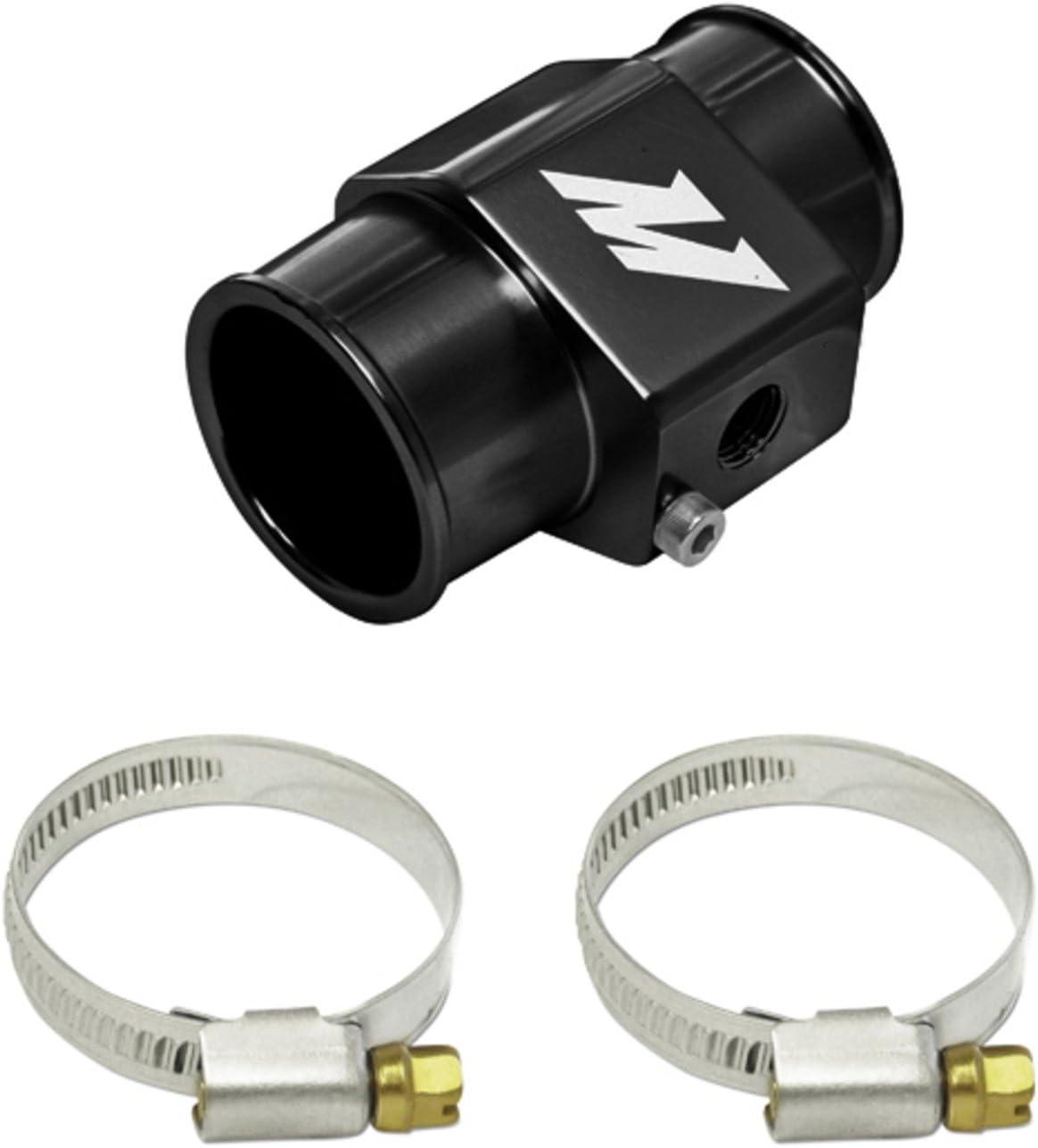 Water Temperature Sensor Adapter - 38mm - Black Mishimoto