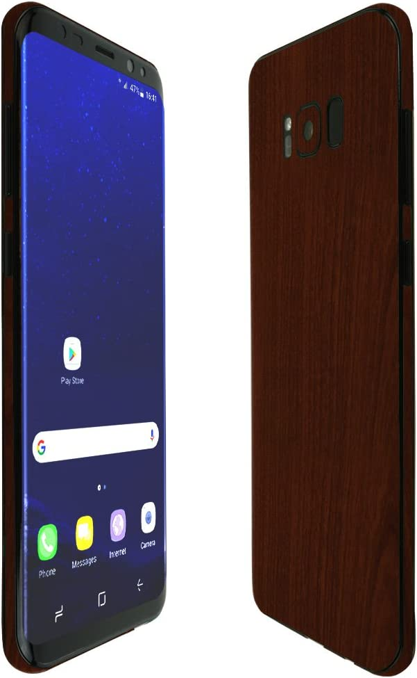 TechSkin with Anti-Bubble Clear Film Screen Protector Skinomi Black Carbon Fiber Full Body Skin Compatible with Google Nexus 4 Full Coverage