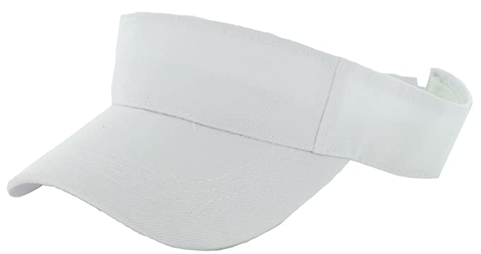 1920s Tennis Clothes | Womens and Men's Outfits DealStock Plain Men Women Sport Sun Visor One Size Adjustable Cap (29+ Colors) $6.49 AT vintagedancer.com