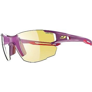 543e4d2fb9c3e4 Julbo Aerolite Photochromic Ladies Sunglasses - Purple Pink, Zebra  Light Lady Girl Female