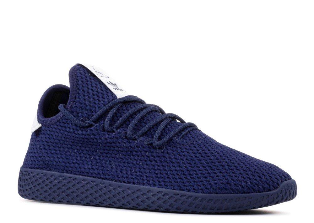Galleon - Adidas PW Tennis Hu In Dark Blue White By c6028fd02a1